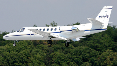 N891FV - Cessna 560 Citation Ultra - Private