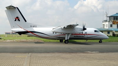 A picture of 5YBTZ - De Havilland Canada Dash 8100 - Airkenya Express - © Daniel Vaccaro Sumi