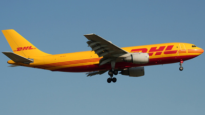 OO-DLU - Airbus A300B4-203(F) - DHL (European Air Transport)