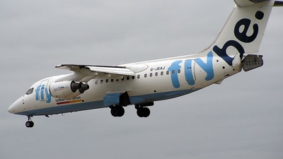 G-JEAJ - British Aerospace BAe 146-200 - Flybe