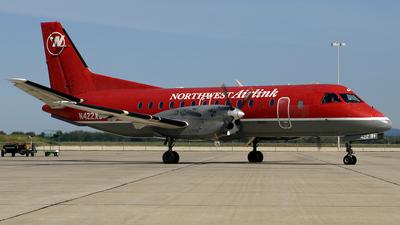 N422XJ - Saab 340B+ - Northwest Airlink (Mesaba Airlines)