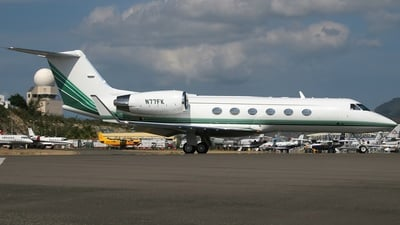 N77FK - Gulfstream G-IV(SP) - Private