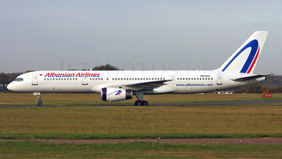 OM-ASG - Boeing 757-28A - Albanian Airlines (Air Slovakia)