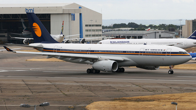 VT-JWD - Airbus A330-243 - Jet Airways