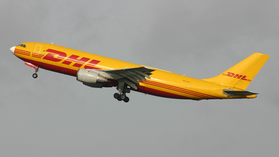 OO-DLZ - Airbus A300B4-203(F) - DHL (European Air Transport)