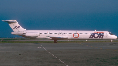 F-GRMC - McDonnell Douglas MD-83 - AOM French Airlines