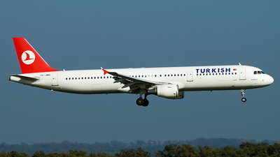 TC-JMG - Airbus A321-211 - Turkish Airlines