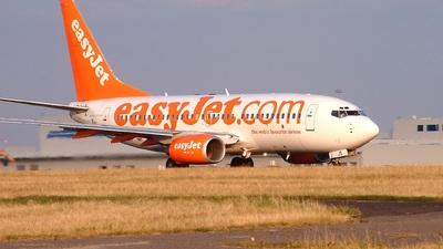 G-EZJS - Boeing 737-73V - easyJet