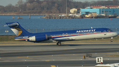 N913ME - Boeing 717-2BL - Midwest Airlines