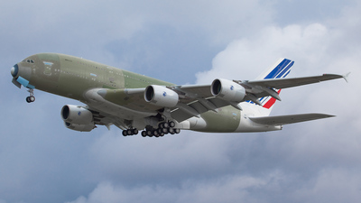 F-WWSB - Airbus A380-861 - Airbus Industrie