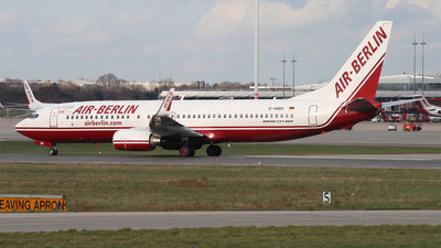 D-ABBO - Boeing 737-86J - Air Berlin