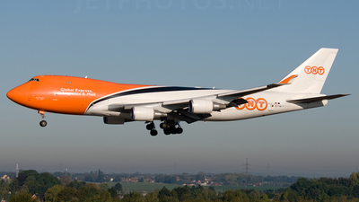 OO-THB - Boeing 747-4HAERF - TNT Airways