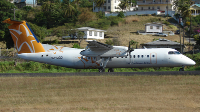 V2-LGD - Bombardier Dash 8-311 - Leeward Islands Air Transport (LIAT)