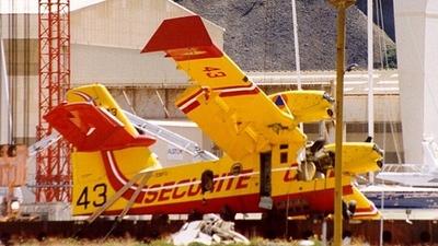 Avion CL-415 Canadair Pélican 44 Sécurité Civile F-ZBME XXL Aircraft  YakAir