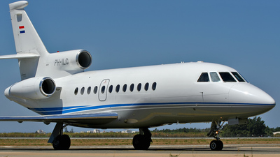 PH-ILC - Dassault Falcon 900B - Private