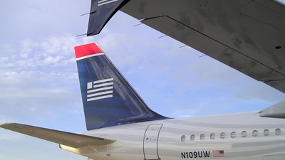 N109UW - Airbus A320-214 - US Airways
