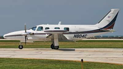 N804C - Piper PA-31T2 Cheyenne II XL - Private