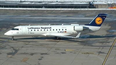 D-ACLR - Bombardier CRJ-100LR - Lufthansa Regional (CityLine)