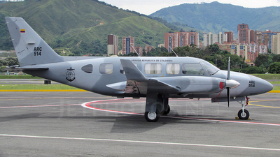 ARC514 - Piper PA-31-350 Chieftain - Colombia - Navy