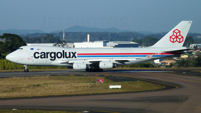 LX-NCV - Boeing 747-4R7F(SCD) - Cargolux Airlines International