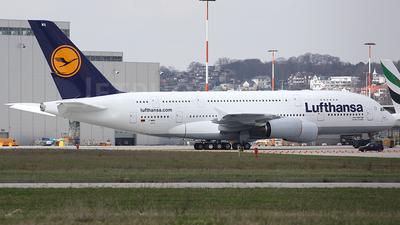 F-WWSH - Airbus A380-841 - Lufthansa