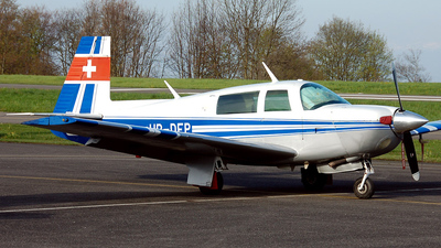A picture of HBDFP - Mooney M20J - [240817] - © Mirko Bleuer