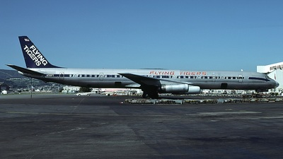 N792FT - Douglas DC-8-63(CF) - Flying Tigers