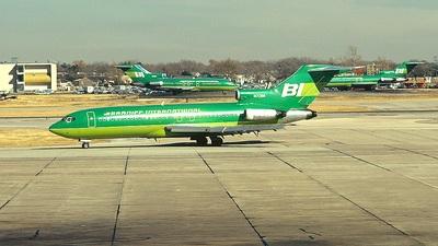 N7286 - Boeing 727-62C - Braniff International Airways