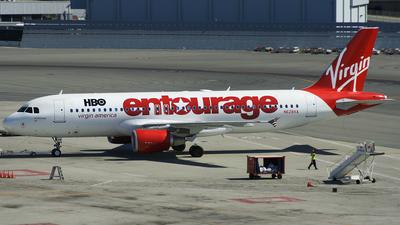N628VA - Airbus A320-214 - Virgin America
