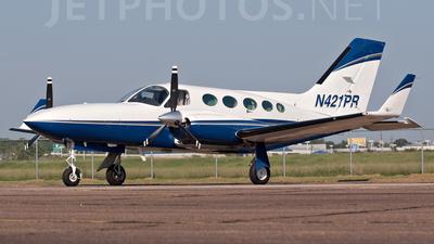A picture of N421PR - Cessna 421C Golden Eagle - [421C0027] - © Blair McFarlain