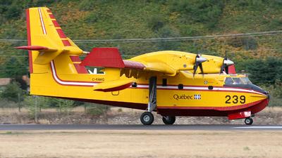 C-FAWQ - Canadair CL-215T-6B11 - Canada - Quebec Service Aerien Gouvernemental