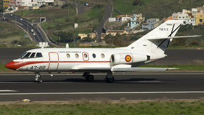 TM.11-2 - Dassault Falcon 20D - Spain - Air Force