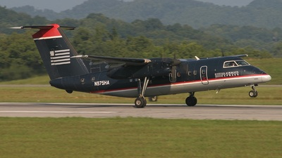 N975HA - Bombardier Dash 8-102 - US Airways Express (Piedmont Airlines)
