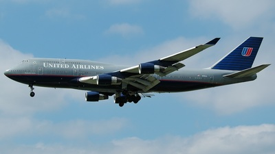 N196UA - Boeing 747-422 - United Airlines