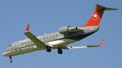 N8396A - Bombardier CRJ-200LR - Northwest Jet Airlink (Pinnacle Airlines)