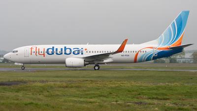 A6-FDA - Boeing 737-8GQ - flydubai