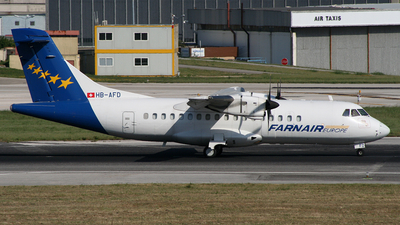 HB-AFD - ATR 42-320(F) - Farnair Switzerland