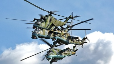 459 - Mil Mi-24D Hind D - Poland - Air Force