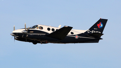 A picture of CFMFQ - Beech C90A King Air - [LJ1740] - © Mike MacKinnon