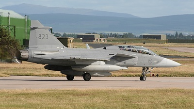 39823 - Saab JAS-39D Gripen - Sweden - Air Force