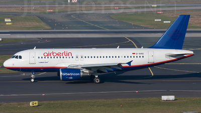 D-AHIO - Airbus A319-112 - Air Berlin