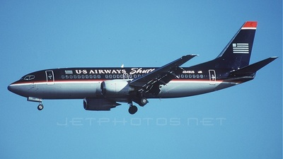 N349US - Boeing 737-301 - US Airways Shuttle