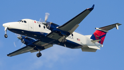 N840CA - Beech 1900D - Delta Connection (Big Sky Airlines)