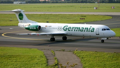 D-AGPP - Fokker 100 - Germania