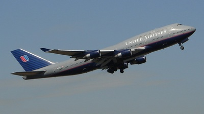 N198UA - Boeing 747-422 - United Airlines