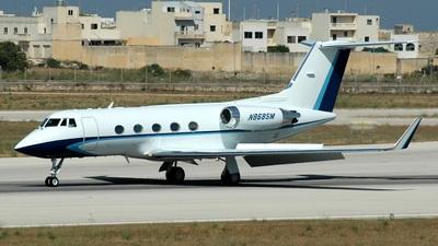 N868SM - Gulfstream G-IIB - Tricycle Aviation