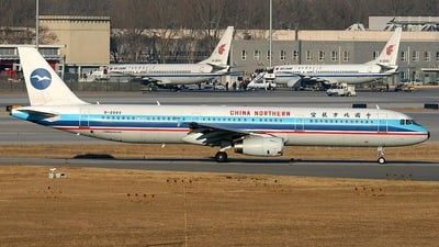 B-2283 - Airbus A321-231 - China Northern Airlines