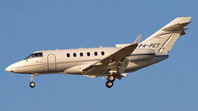 P4-PET - Raytheon Hawker 900XP - Private