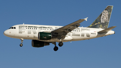 N805FR - Airbus A318-111 - Frontier Airlines