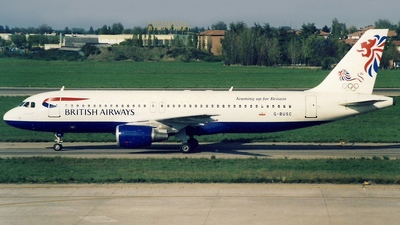 G-BUSC - Airbus A320-111 - British Airways